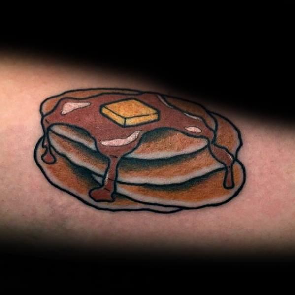 Guys Pancake Tattoos