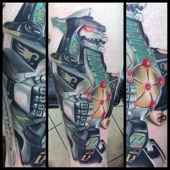 Adult Bedroom Ideas: 50 Power Rangers Tattoo Designs For Men