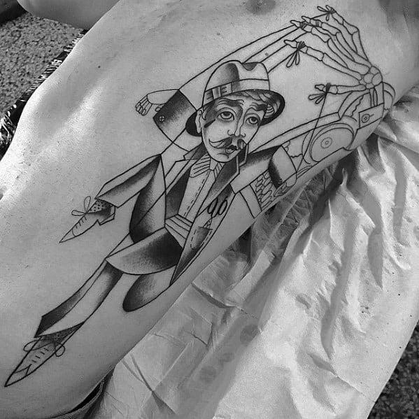 Guys Puppet Tattoo