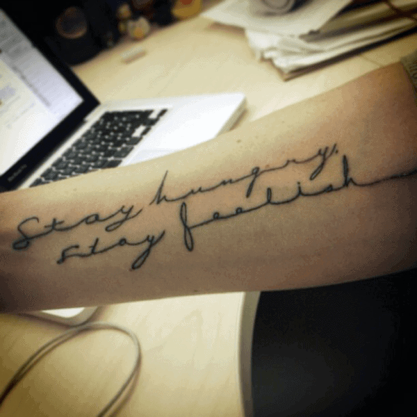 Guy's Quote Tattoos
