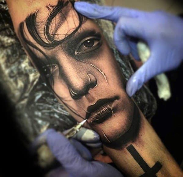 edward scissorhands tattoo designs  men  ink ideas