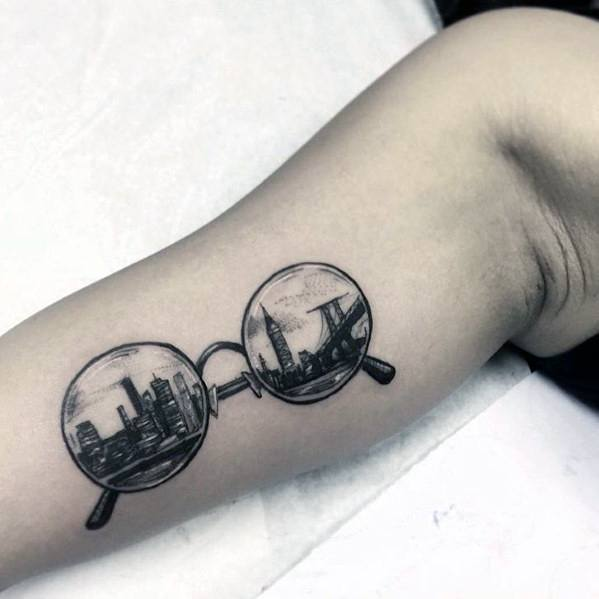 Guys Reflection Tattoos
