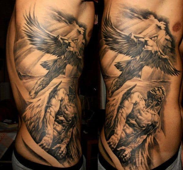 Guy's Rib Tattoo Designs