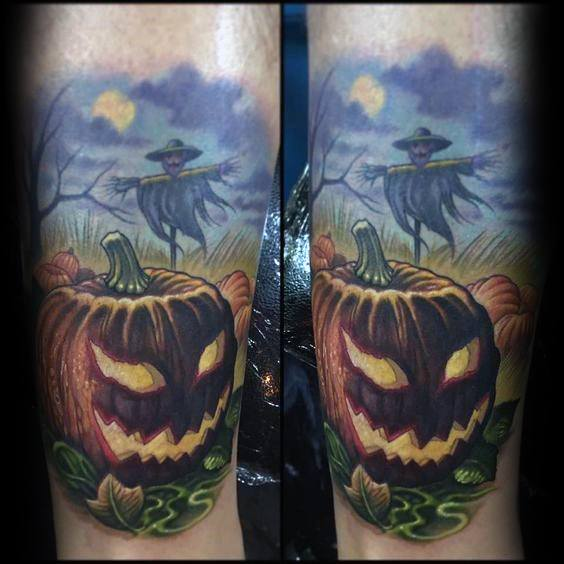 Guys Scarecrow Tattoo