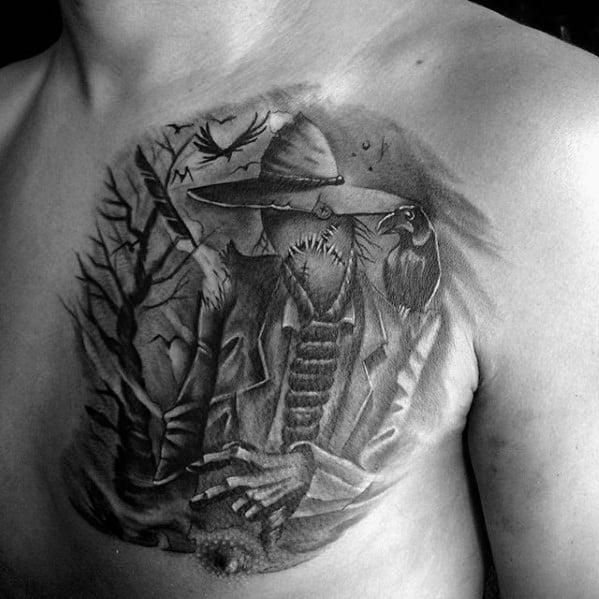 Guys Scarecrow Tattoos