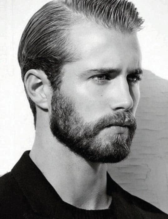 Guys Short Hair And Beard Styles