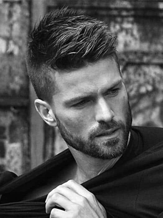 Wondrous 60 Short Hairstyles For Men With Thin Hair Fine Cuts Hairstyles For Women Draintrainus
