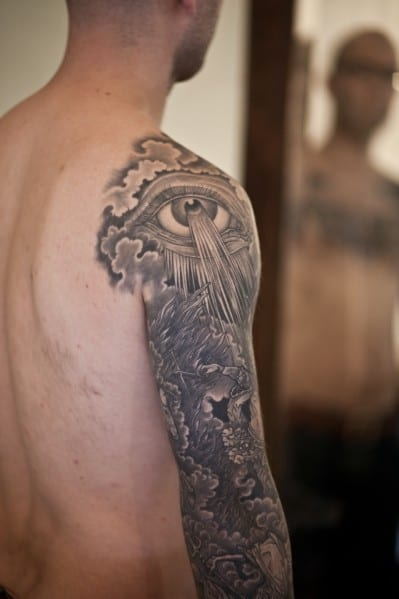 Guy's Sleeve Tattoos
