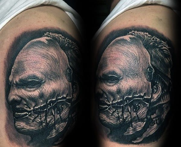 Guys Slipknot Tattoos