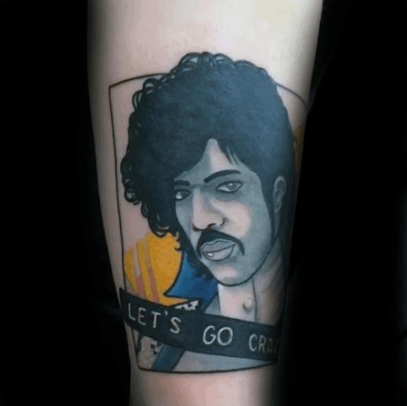 Guys Square Forearm Prince Tattoos