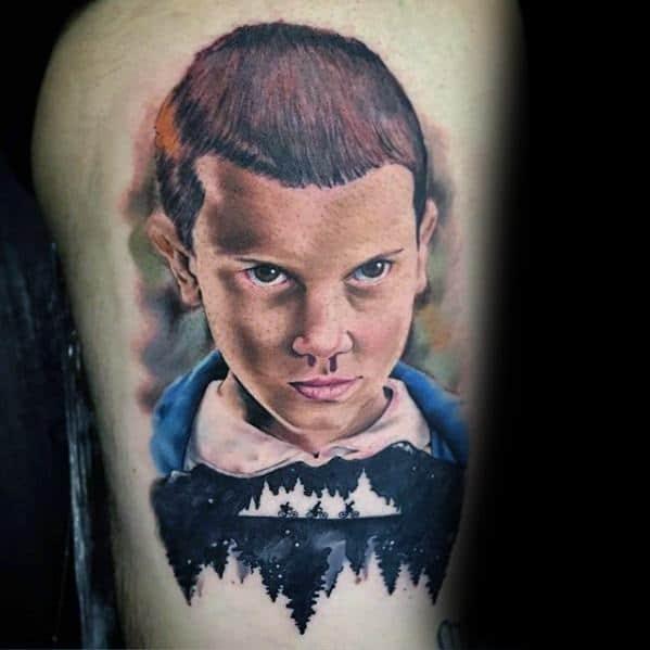 Guys Stranger Things Tattoos