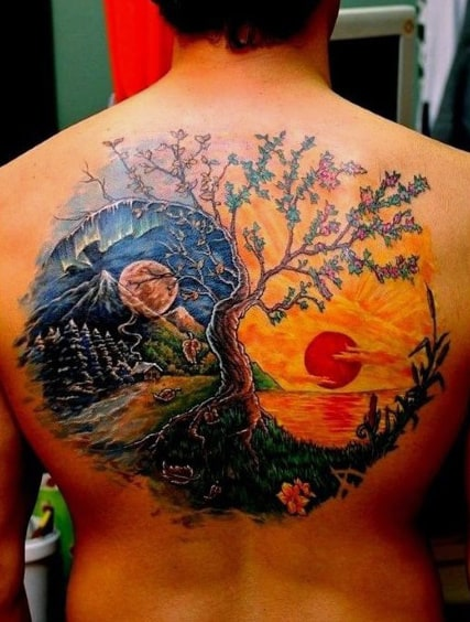 1789dc905 70 Sun Tattoo Designs For Men - A Symbol Of Truth And Light