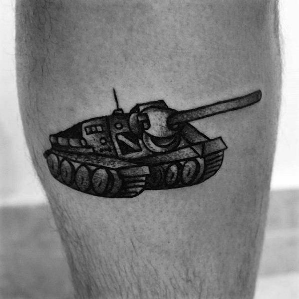 Guys Tank Tattoo Design Ideas