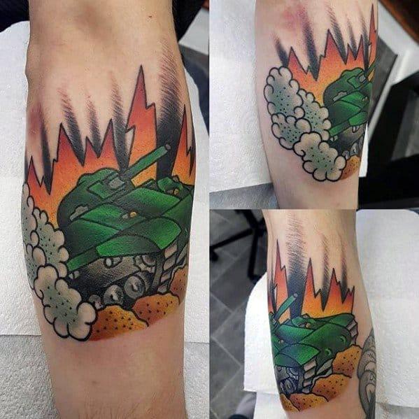 Guys Tank Tattoos