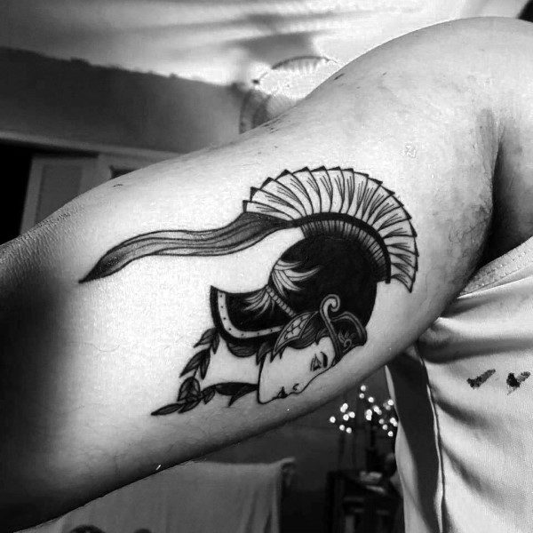 Guys Tattoo Athena