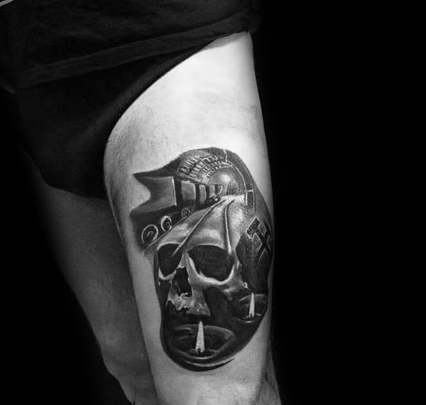 Guys Tattoo Coal Mining