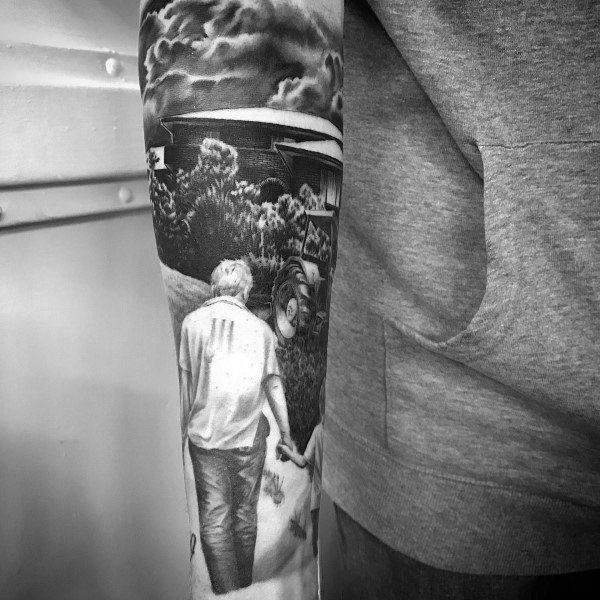 Guys Tattoo Farming