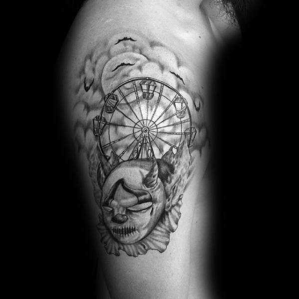 Guys Tattoo Ferris Wheel
