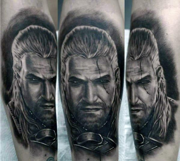 Guys Tattoo Geralt