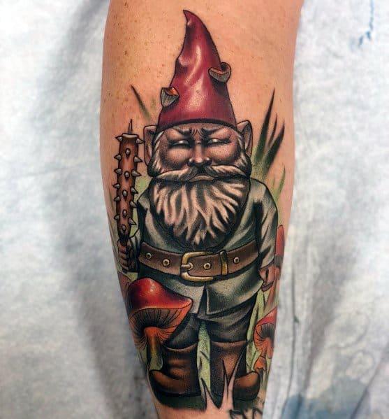 Guys Tattoo Gnome