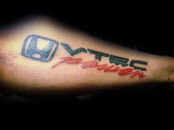 Guys Tattoo Honda
