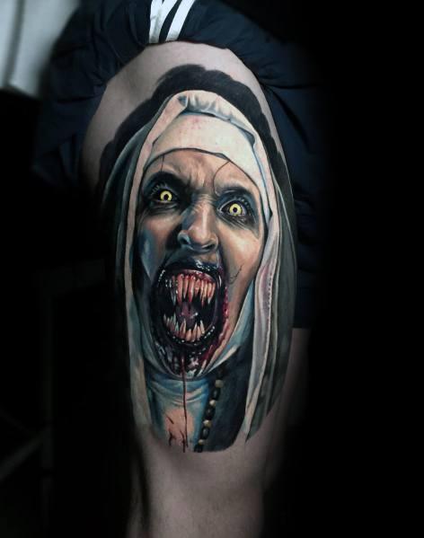 Guys Tattoo Horror Movie