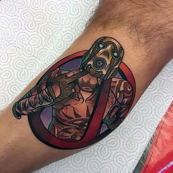 Guys Tattoo Ideas Borderlands Designs