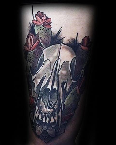 Guys Tattoo Ideas Coyote Designs