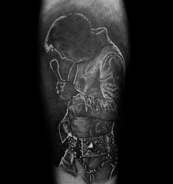 Guys Tattoo Ideas Elvis Presley Designs