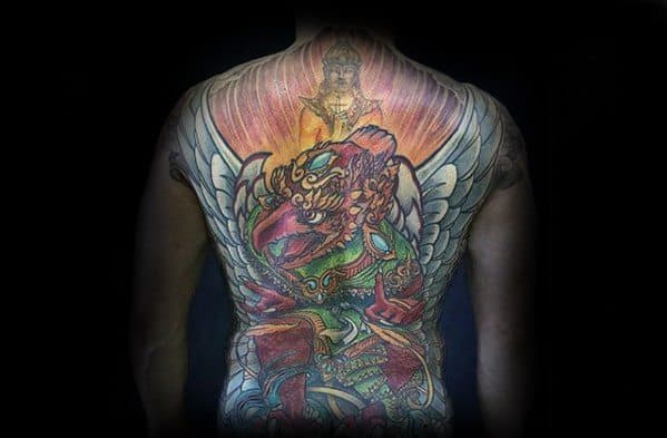 Guys Tattoo Ideas Garuda Designs