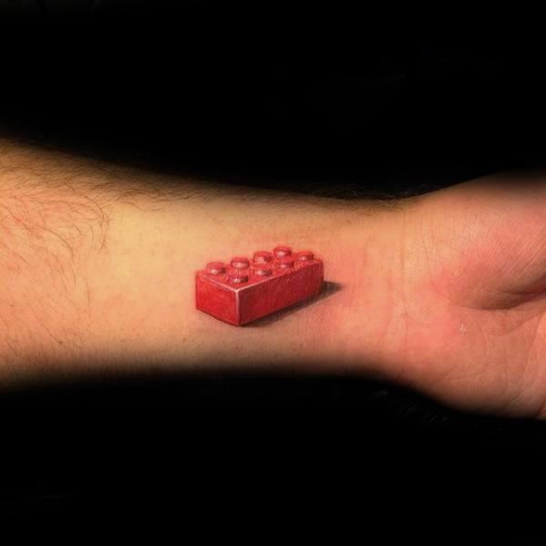 Guys Tattoo Ideas Lego Designs