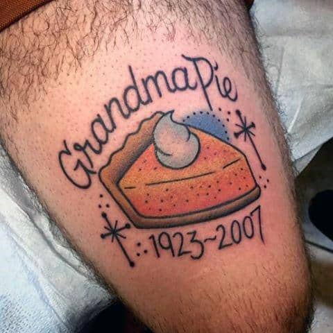 Guys Tattoo Pie