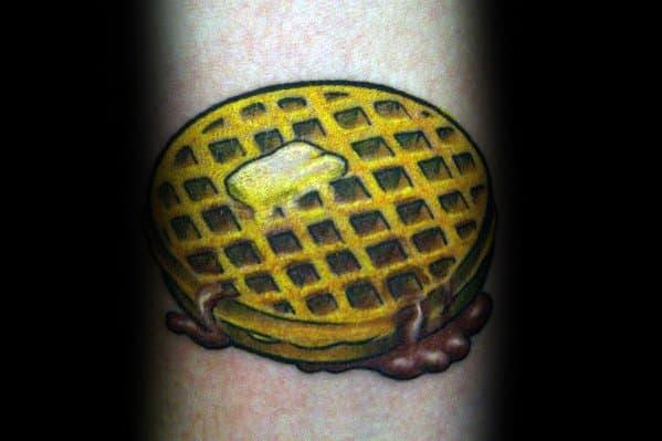 Guys Tattoo Waffle