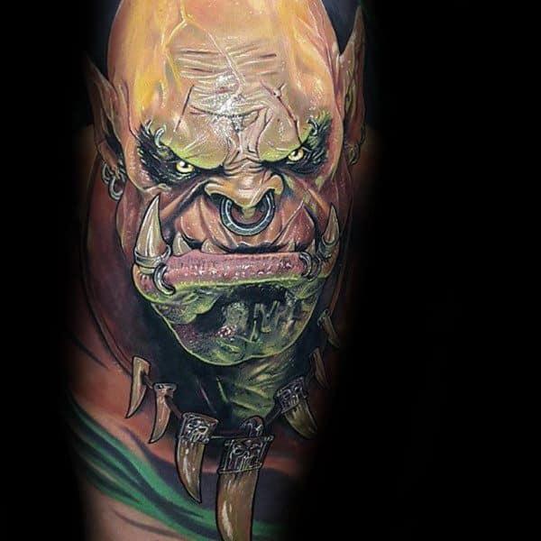 Guys Tattoo World Of Warcraft