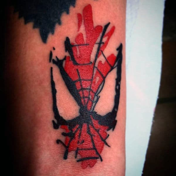 spider man back tattoos pictures to pin on pinterest tattooskid. Black Bedroom Furniture Sets. Home Design Ideas