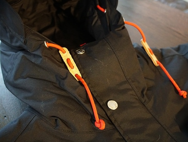Guys Topo Designs Mountain Jacket Ajustable Hood