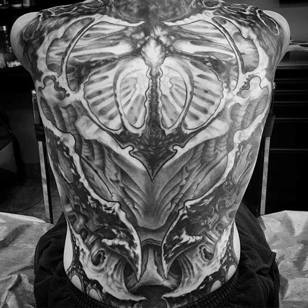 Guys Trippy Tattoo Design Idea Inspiration