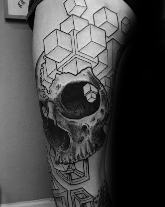 Guys Trippy Tattoo Designs
