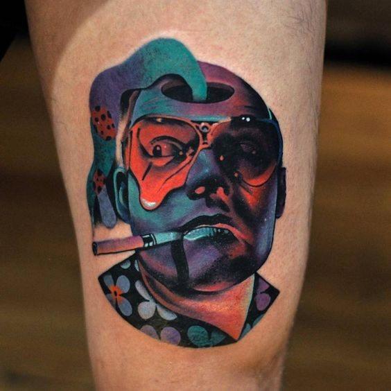 Guys Trippy Tattoo