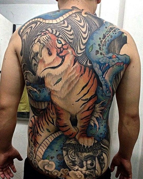 Guys Trippy Tattoos