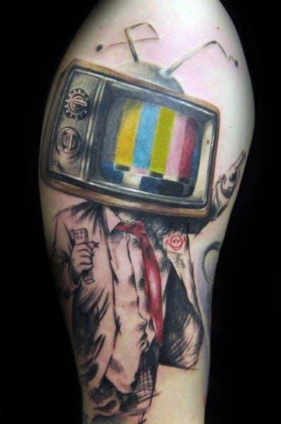 Guys Tv Tattoo Design Ideas