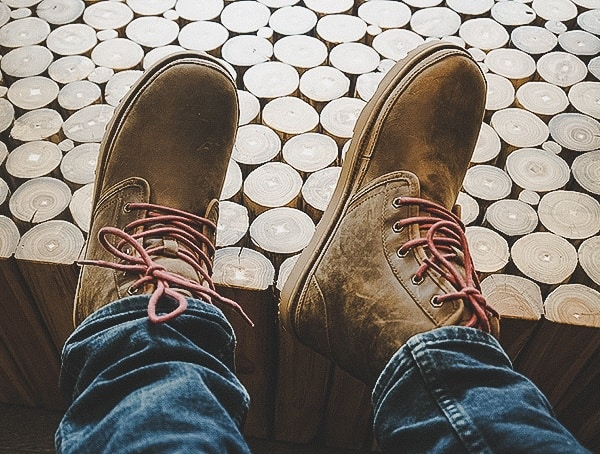 a1165eb3542 Grizzly Mens UGG Harkley Waterproof Boots Review - Masculine Leather ...
