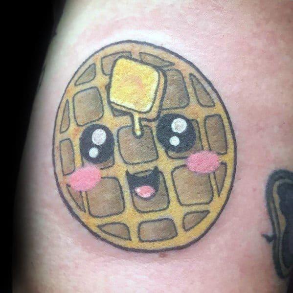 Guys Waffle Tattoos