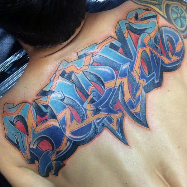 80 graffiti tattoos for men inked street art designs