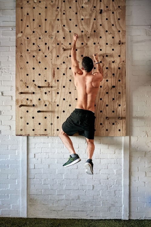Gym Wall Functional Display Pegboard Ideas