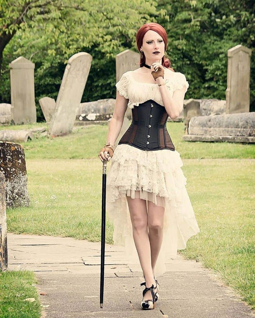 Gypsy Top Gothic Victorian Style