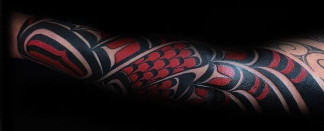 Haida Tattoo Designs For Men
