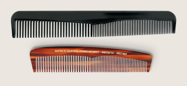 Hair Tips For Men Comb Care