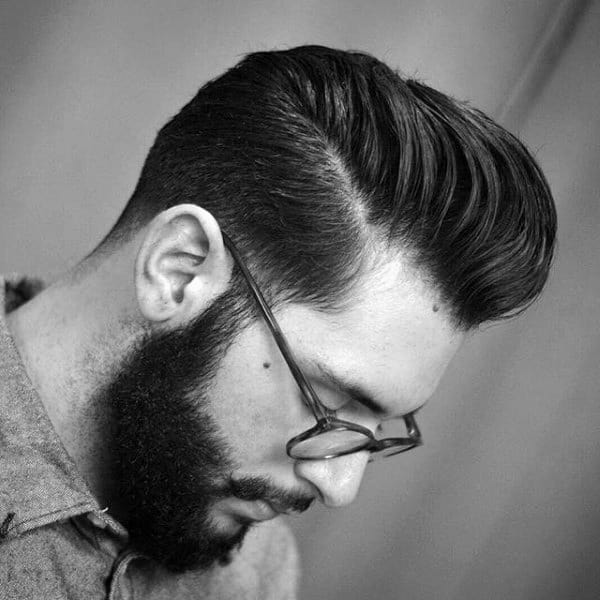 Haircut Pompadour For Males