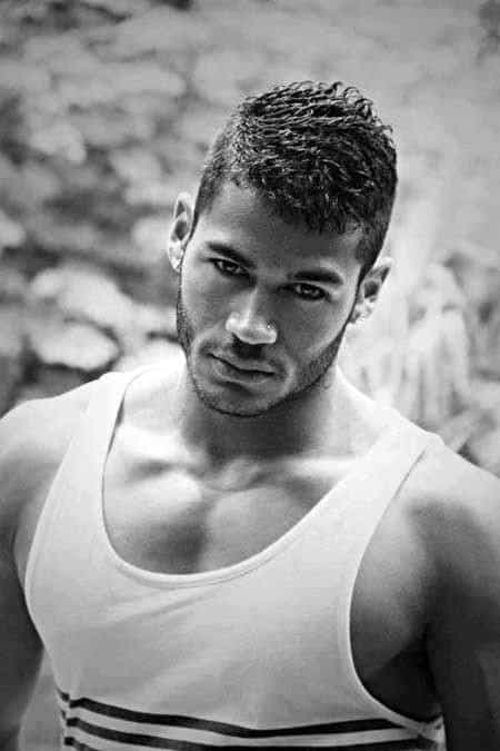 Enjoyable Short Curly Hair For Men 50 Dapper Hairstyles Hairstyle Inspiration Daily Dogsangcom